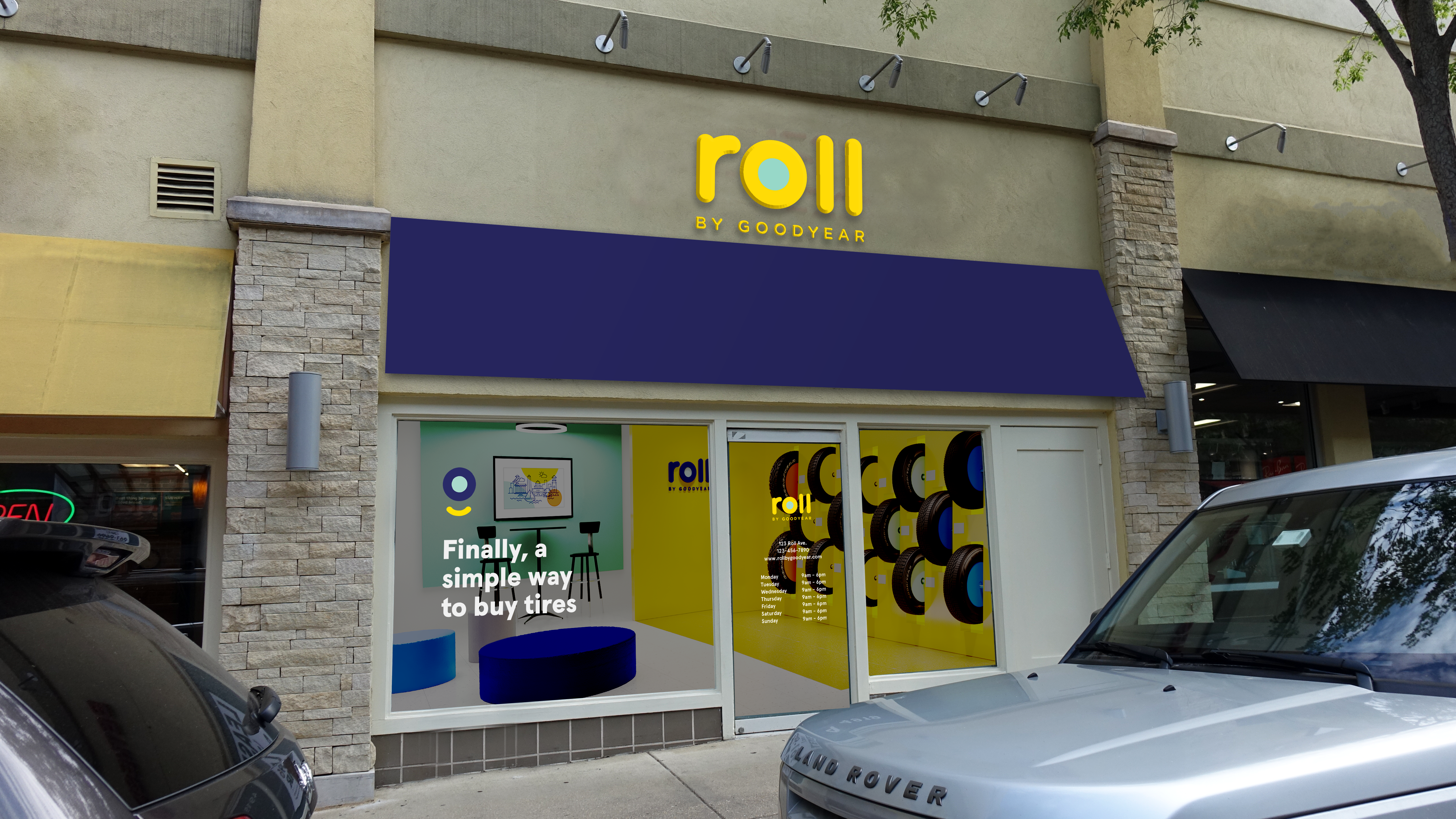 Presenting Roll By Goodyear A Simple Way To Buy And Install Tires